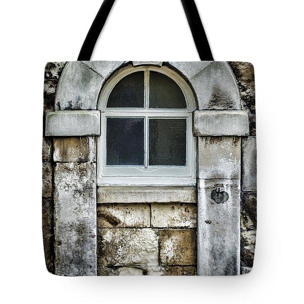 Keystone Window Tote Bag by Heather Applegate