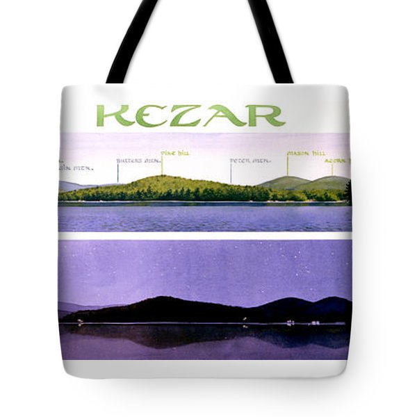 Kezar Lake View Tote Bag by Mary Helmreich