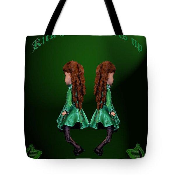 Kick Your Heels Up Tote Bag by LeeAnn McLaneGoetz McLaneGoetzStudioLLCcom