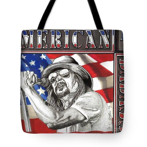 Kid Rock American Badass Tote Bag