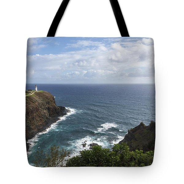 Kilauea Lighthouse - Kauai Hawaii Tote Bag by Brian Harig