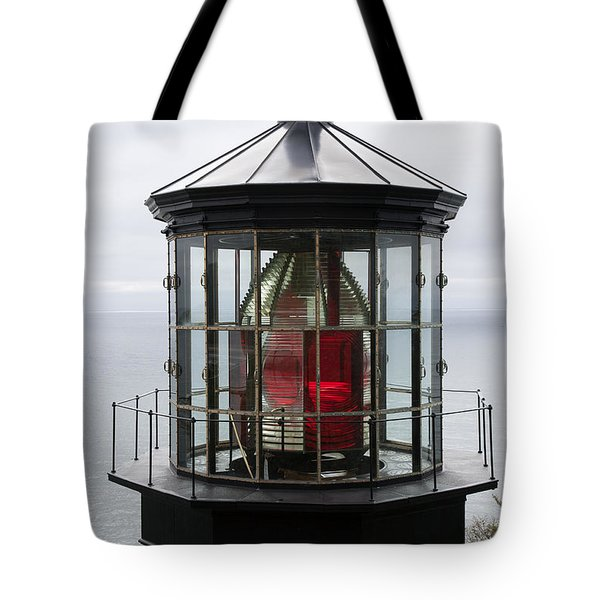 Kilauea Lighthouse Tote Bag by Peter French