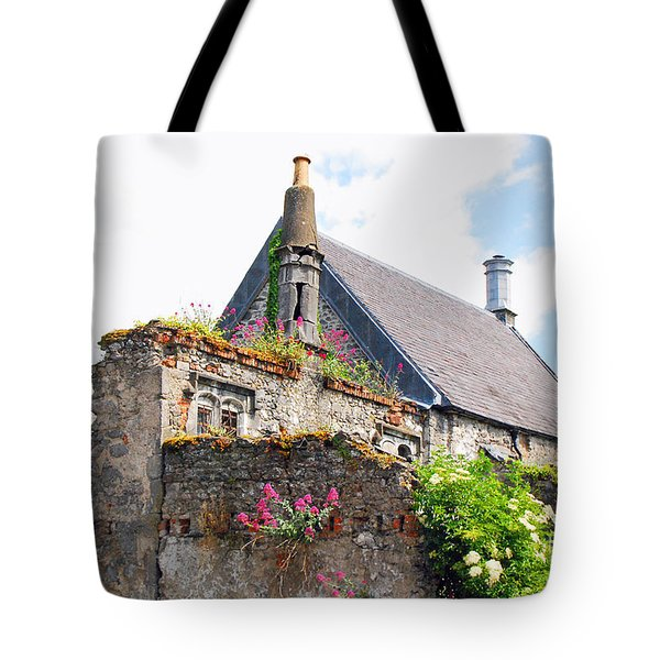 Tote Bag featuring the photograph Kilkenny House by Mary Carol Story