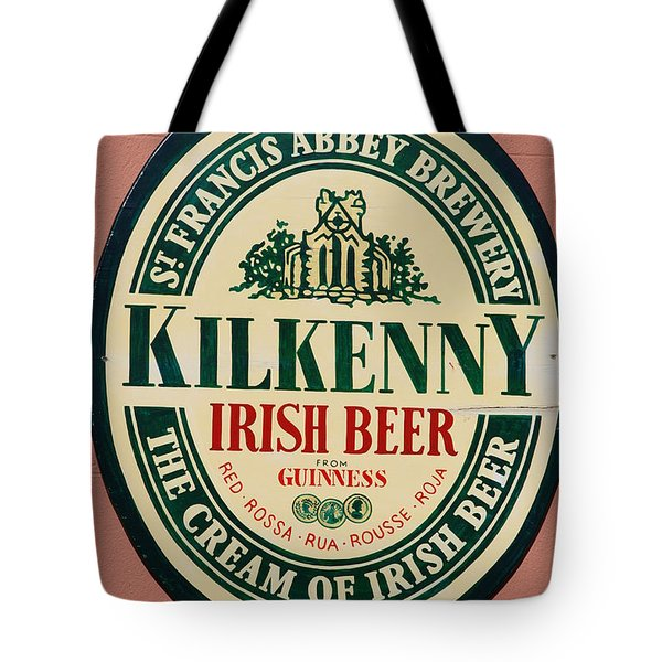 Kilkenny Irish Beer Tote Bag