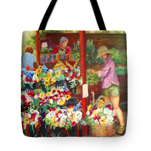 Killarney Farms Booth Tote Bag