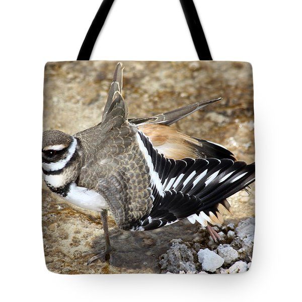 Killdeer Fakeout Tote Bag