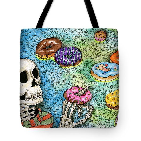 killer Donuts Tote Bag