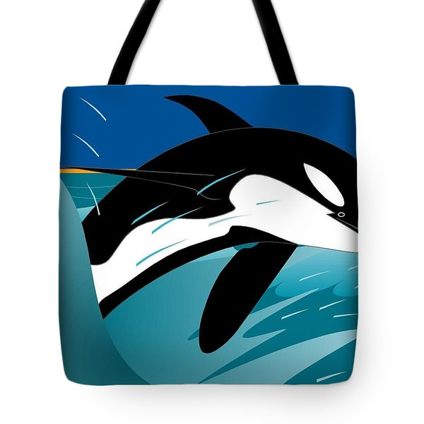 Killer Whale Tote Bag
