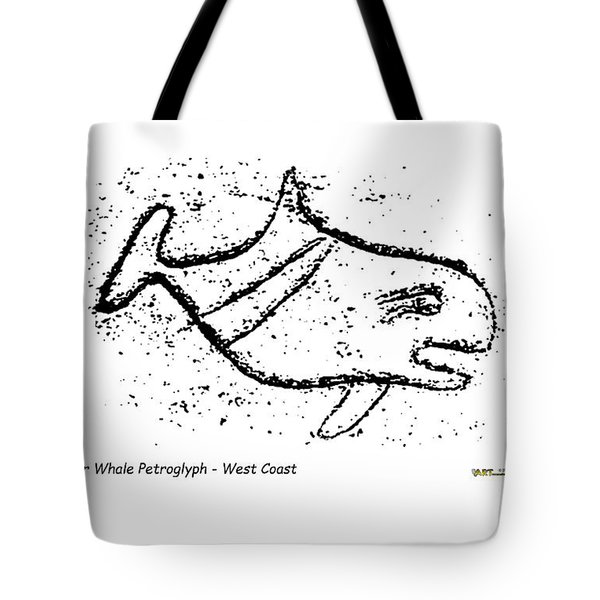 Killer Whale Petroglyph Tote Bag
