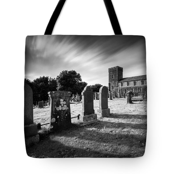 Kilmartin Parish Church Tote Bag by Dave Bowman