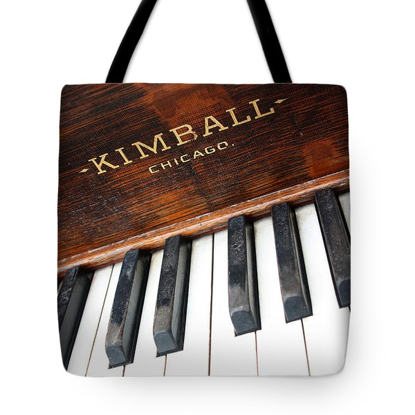 Kimball Piano-3479 Tote Bag by Gary Gingrich Galleries