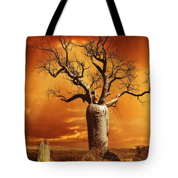 Kimberley Dreaming Tote Bag by Linda Lees