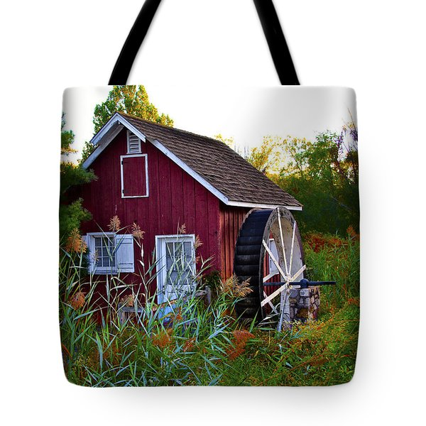 Kimberton Mill Tote Bag by Bill Cannon