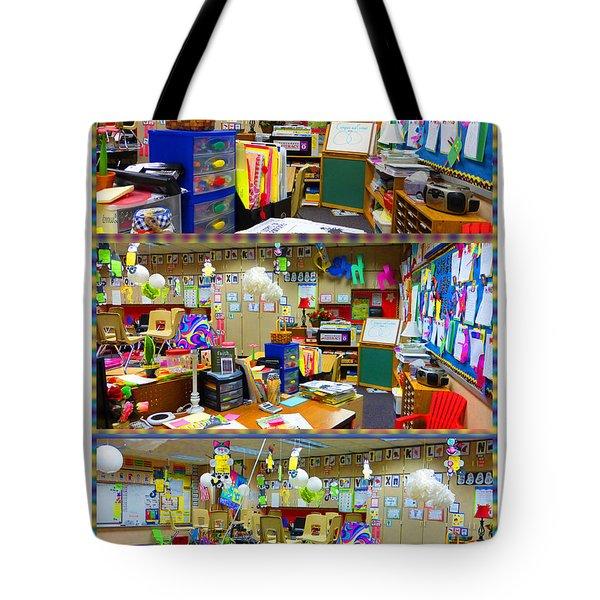 Kindergarten Classroom Tote Bag by Tina M Wenger