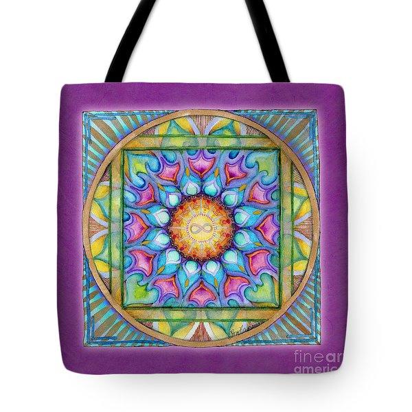 Kindness Mandala Tote Bag