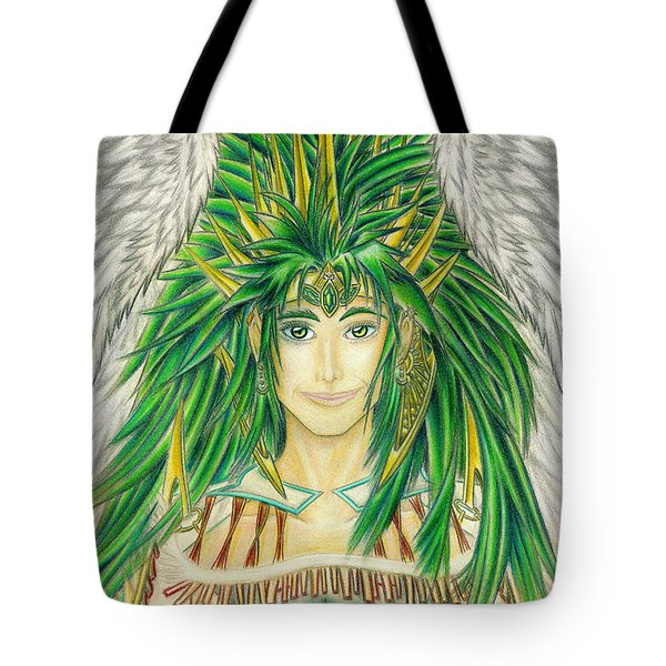 King Crai'riain Portrait Tote Bag