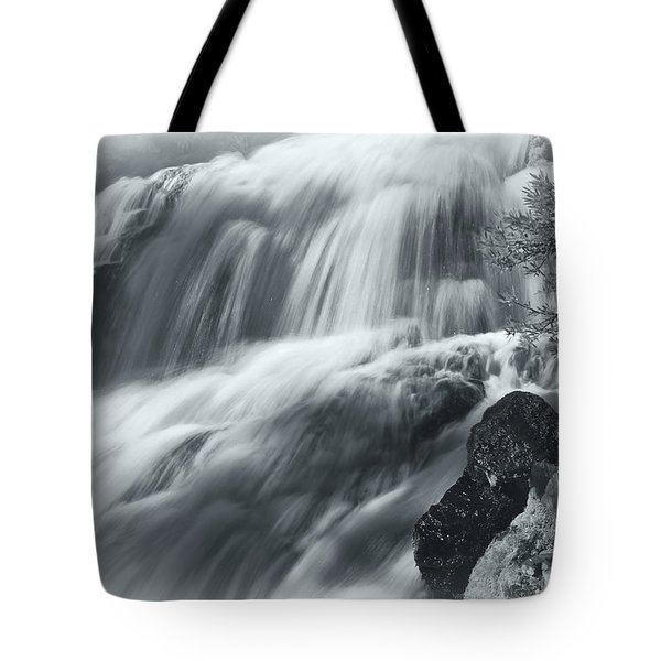Tote Bag featuring the photograph King Creek Falls by Jonathan Nguyen