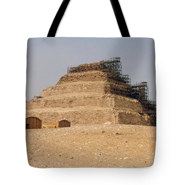 King Djoser The Great Of Saqqara Tote Bag