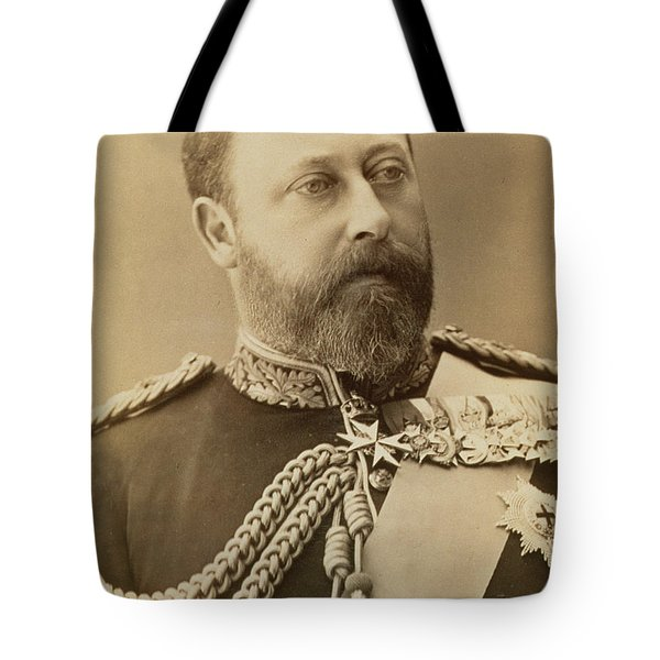 King Edward Vii  Tote Bag by Stanislaus Walery