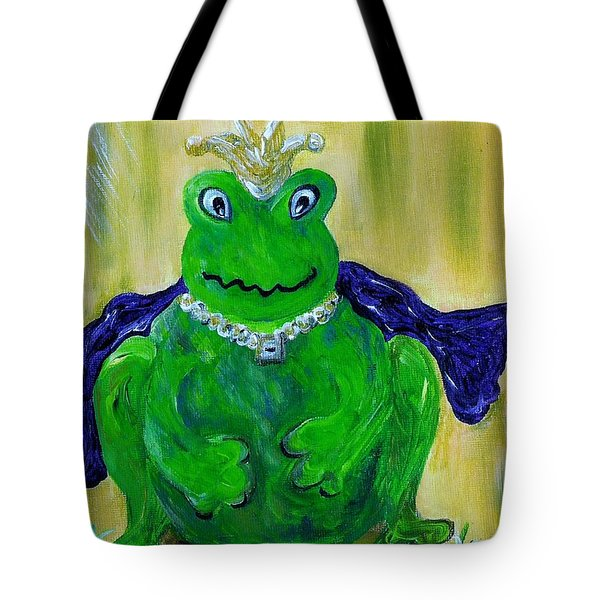 Tote Bag featuring the painting King For A Day by Eloise Schneider