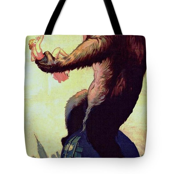 King Kong  Tote Bag