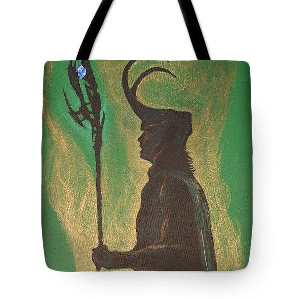 King Loki Tote Bag