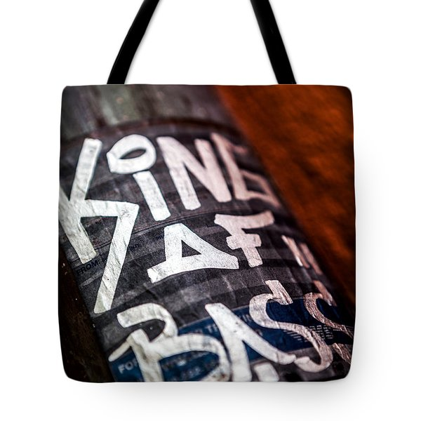 Tote Bag featuring the photograph King Of Bass by Sennie Pierson
