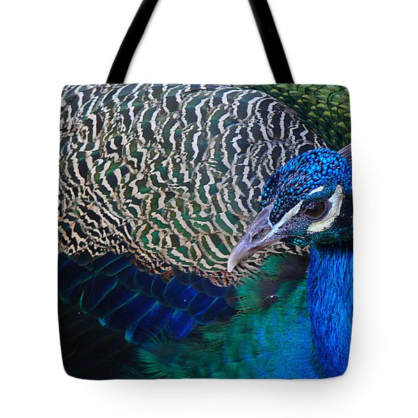 King Of Colors Tote Bag by Evelyn Tambour