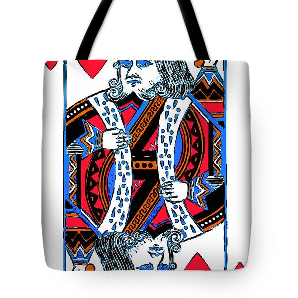 King Of Hearts 20140301 Tote Bag
