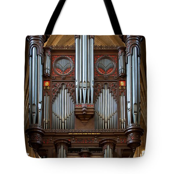 King Of Instruments Tote Bag