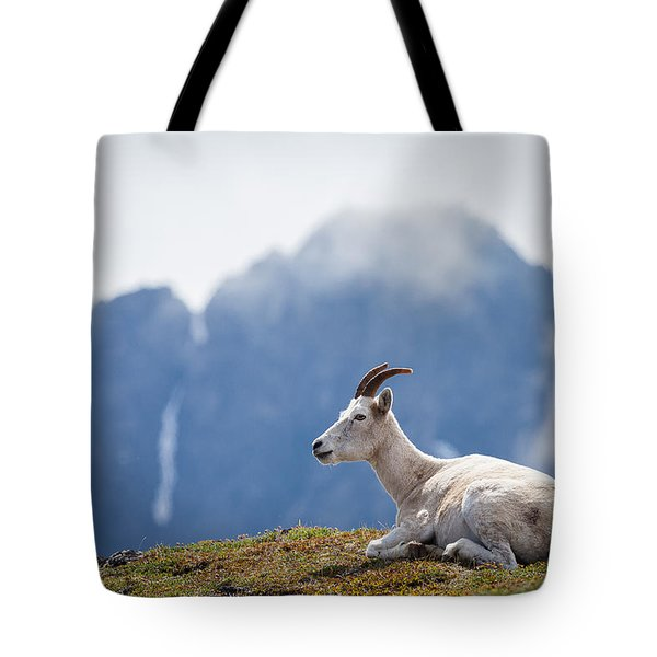 Mountain Prince Tote Bag