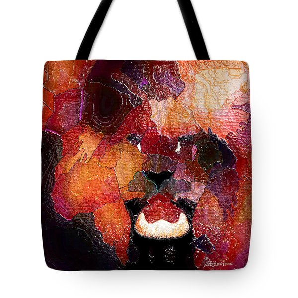King Of The Jungle-featured In Comfortable Art-faa Gallery Artists Who Create And Wildlife Groups Tote Bag by EricaMaxine  Price