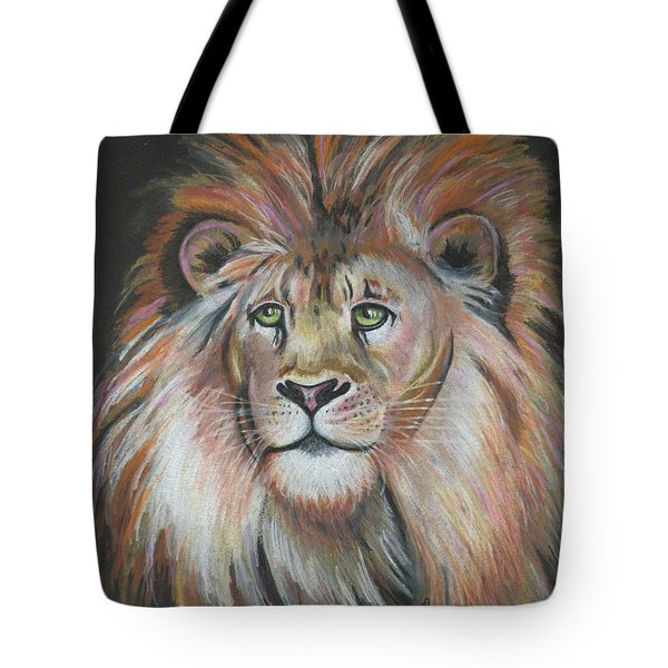 King Of The Jungle Tote Bag by Lora Duguay