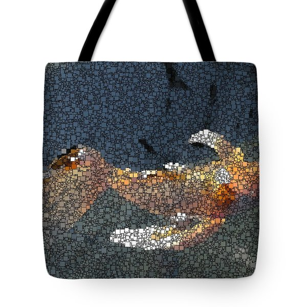 King Of The Pond Tote Bag by Tim Allen