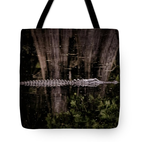 Tote Bag featuring the photograph King Of The River by Steven Sparks