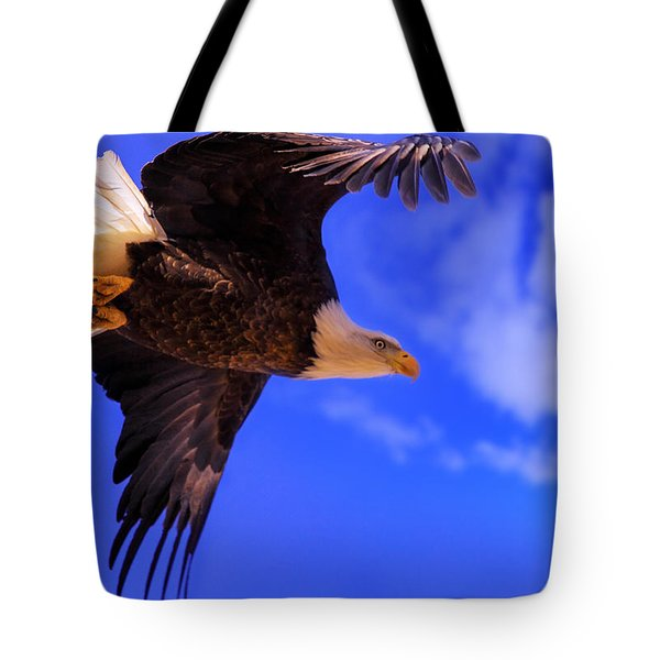 Tote Bag featuring the photograph King Of The Sky by Kadek Susanto