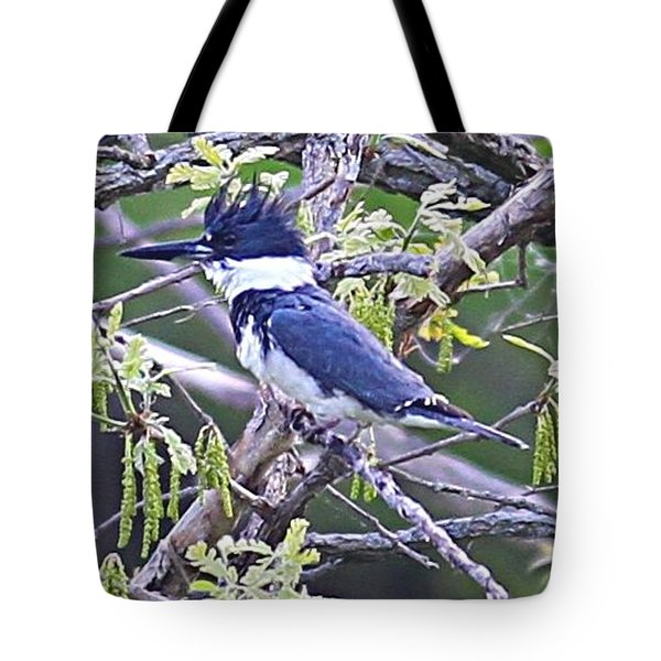 Tote Bag featuring the photograph King Of The Tree by Elizabeth Winter
