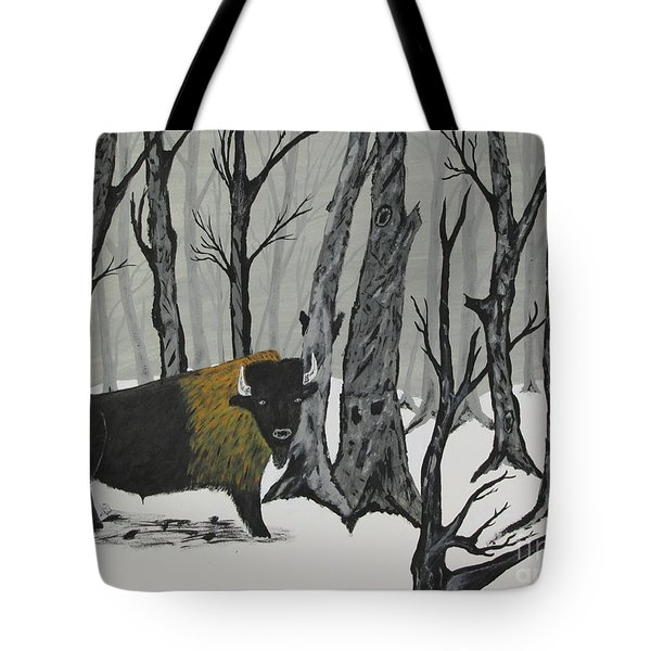 King Of The Woods Tote Bag