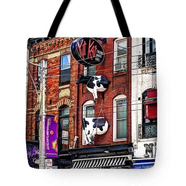 King Street West Tote Bag