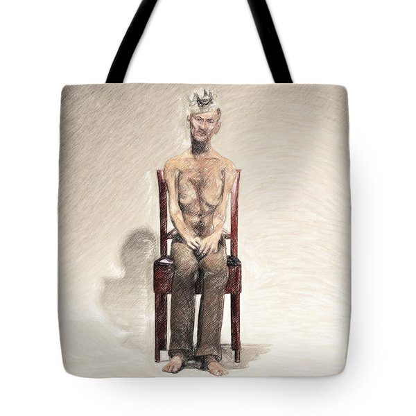 King Tote Bag by Taylan Apukovska