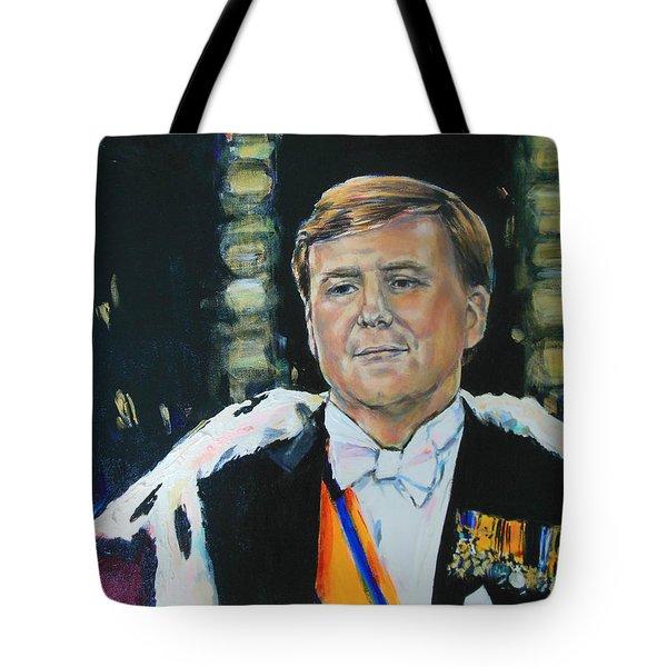 King Willem Alexander Tote Bag by Lucia Hoogervorst