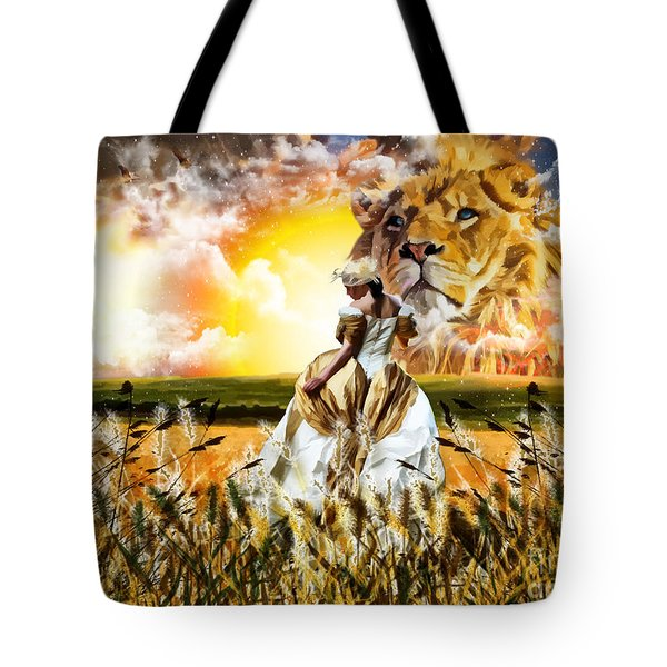 Kingdom Gold Tote Bag