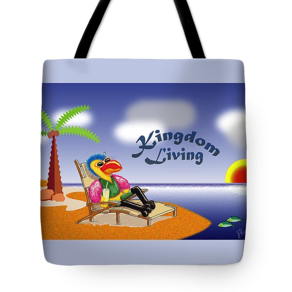 Kingdom Living Tote Bag by Jerry Ruffin