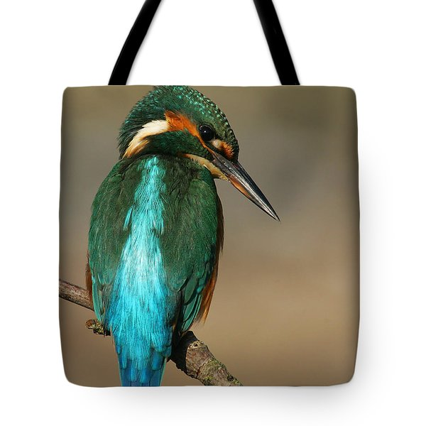 Kingfisher1 Tote Bag