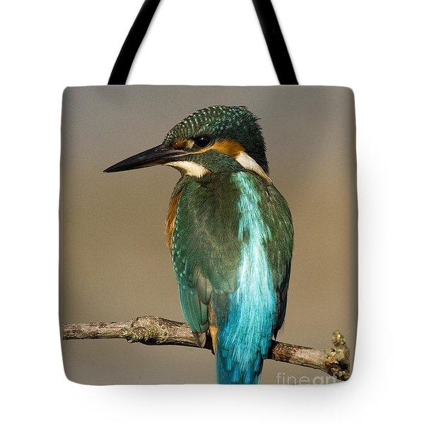 Kingfisher3 Tote Bag