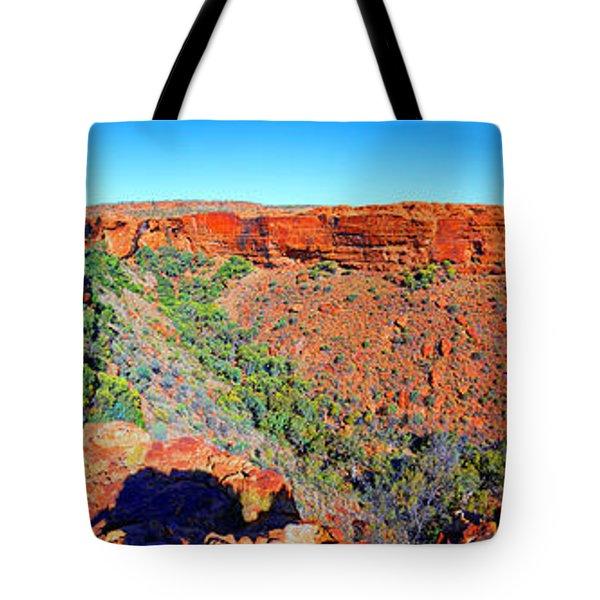 Kings Canyon Central Australia Tote Bag