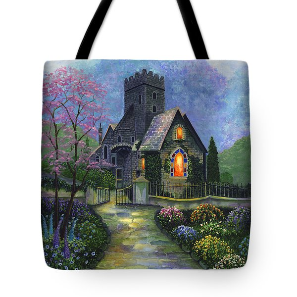 King's Garden Tote Bag by Bonnie Cook