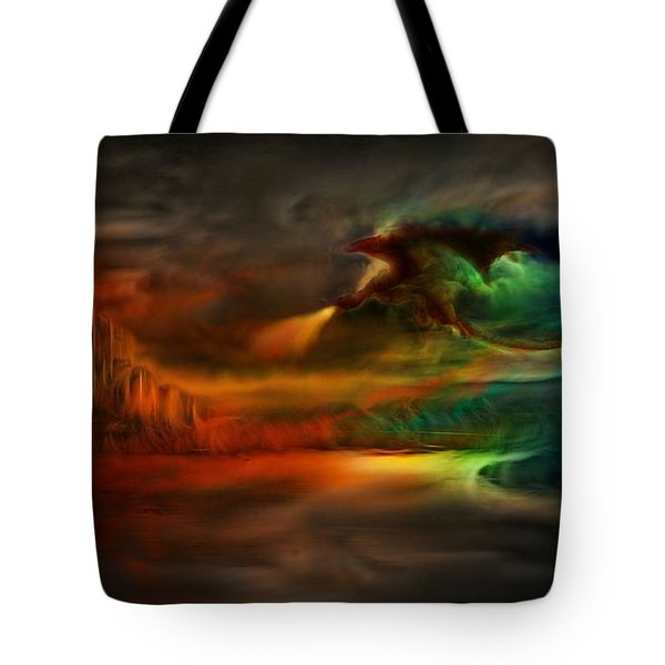 Kings Landing - Winter Is Coming Tote Bag by Lilia D