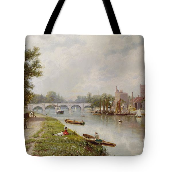 Kingston On Thames Tote Bag by Robert Finlay McIntyre