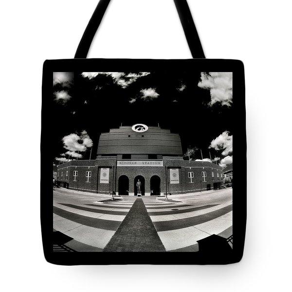 Kinnick Stadium Tote Bag